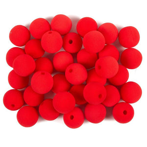 36 Pcs Red Clown Noses, Circus Themed Birthday & Carnival Party Supplies, 2""