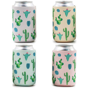 Blue Panda 12-Pack Cactus Desert Beer Can Cooler Sleeve Covers