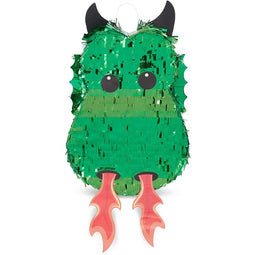 Green Dragon Pinata for Baby Shower Kids Birthday Party Supplies Decorations 17""