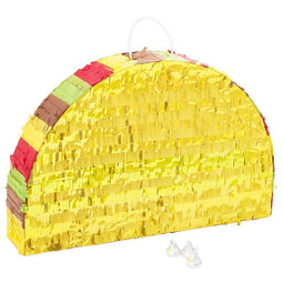 "Taco Pinata for Cinco De Mayo Mexican Fiesta Birthday Party Supplies 17"" x 10.8"""