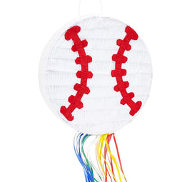 Baseball Pinata for Kids Birthday Theme Party Decorations (12.75 x 3 in)