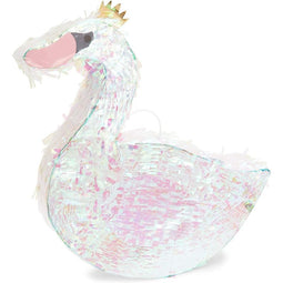Swan Pinata, Princess Party Supplies (16.25 x 14 in)