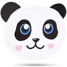"Panda Pinata for Baby Shower, Kids Birthday Party Supplies Decorations 15""x13.5"""