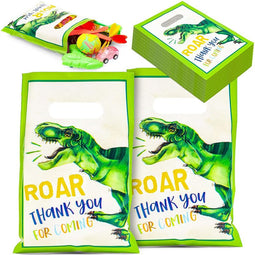 Dinosaur Party Favor Goodie Bags (100 Pack)