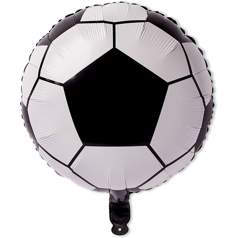 Soccer Birthday Party Balloons