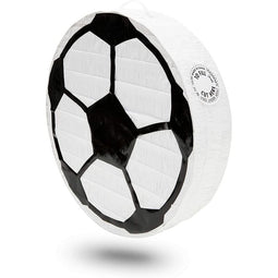 Soccer Ball Pinata for Birthday Party Decorations (12.8 x 12.8 x 3 Inches)