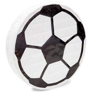 Soccer Ball Pinata for Birthday Party Decorations (12.8 x 12