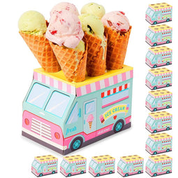 Ice Cream Party Decorations, Cone Holder (12-Pack)