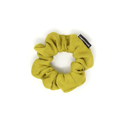 Skinny Avocado Suede Supercrush Scrunchie