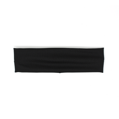 Skinny Black Sport Supercrush Headband