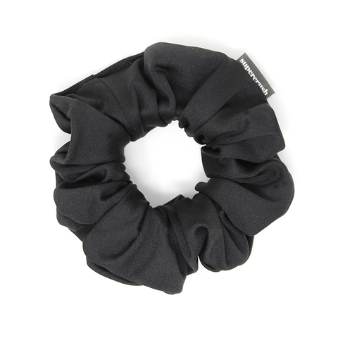 Black Sport Supercrush Scrunchie