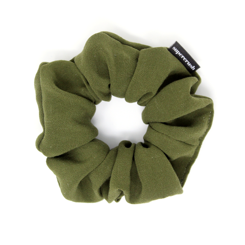 Moss Supercrush Scrunchie