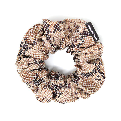 Snakeskin Supercrush Scrunchie
