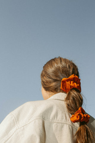 Malbec Silk Supercrush Scrunchie