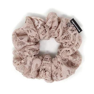 Blush Lace Scrunchie