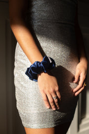 Midnight Navy Velvet