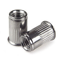 10-32 302 SS Rivet Nut, Reduced Head