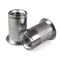 5/16-18 302 SS Rivet Nut, Standard Head, Second Grip