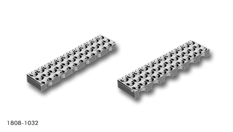 Adapter for 96 well round bottom microplate
