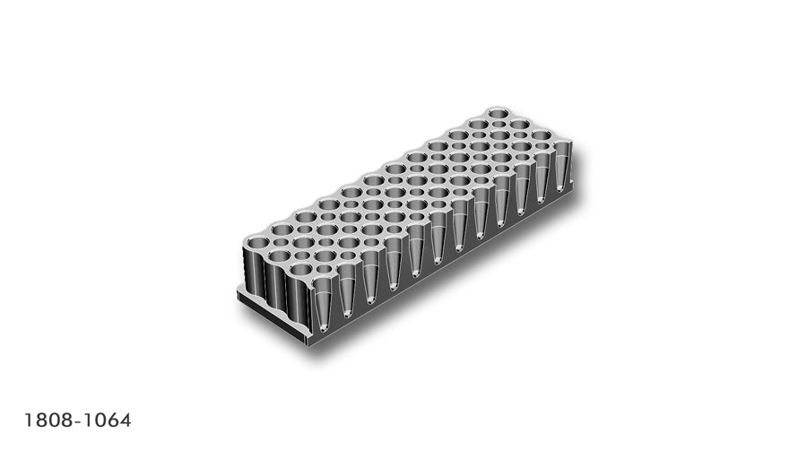 Adapter for 96/250µl PCR tubes/stripes/plates