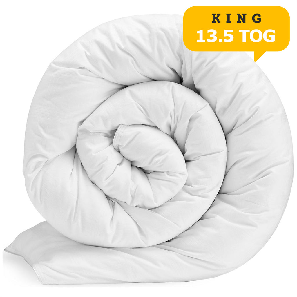 Poly Cotton Quilt King 13.5 Tog