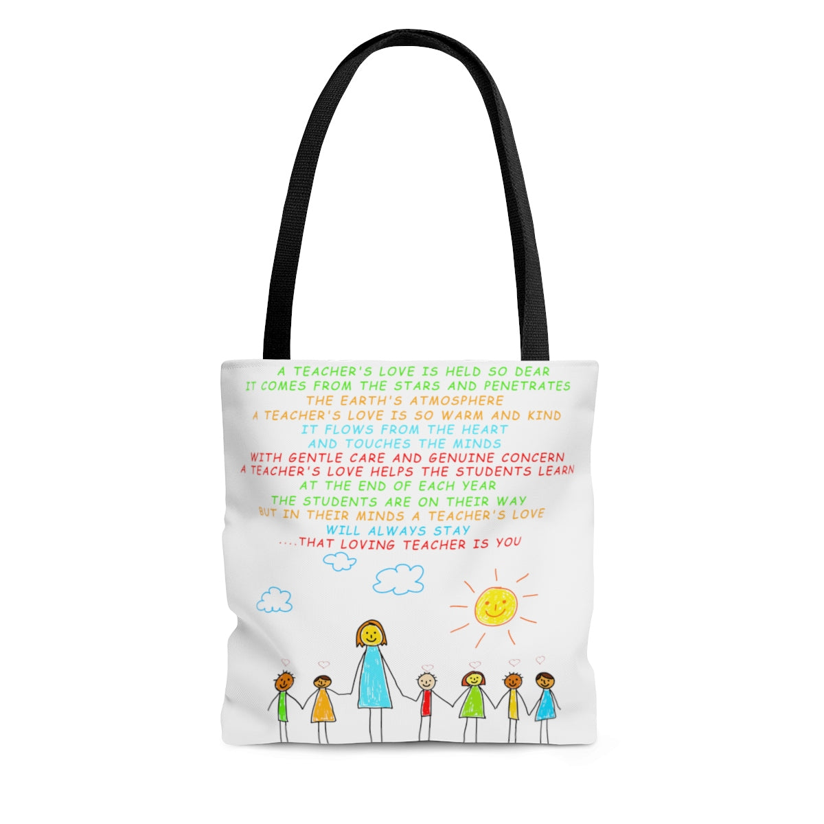 A Teachers Love | Kindergarten/Pre-K | Tote Bag