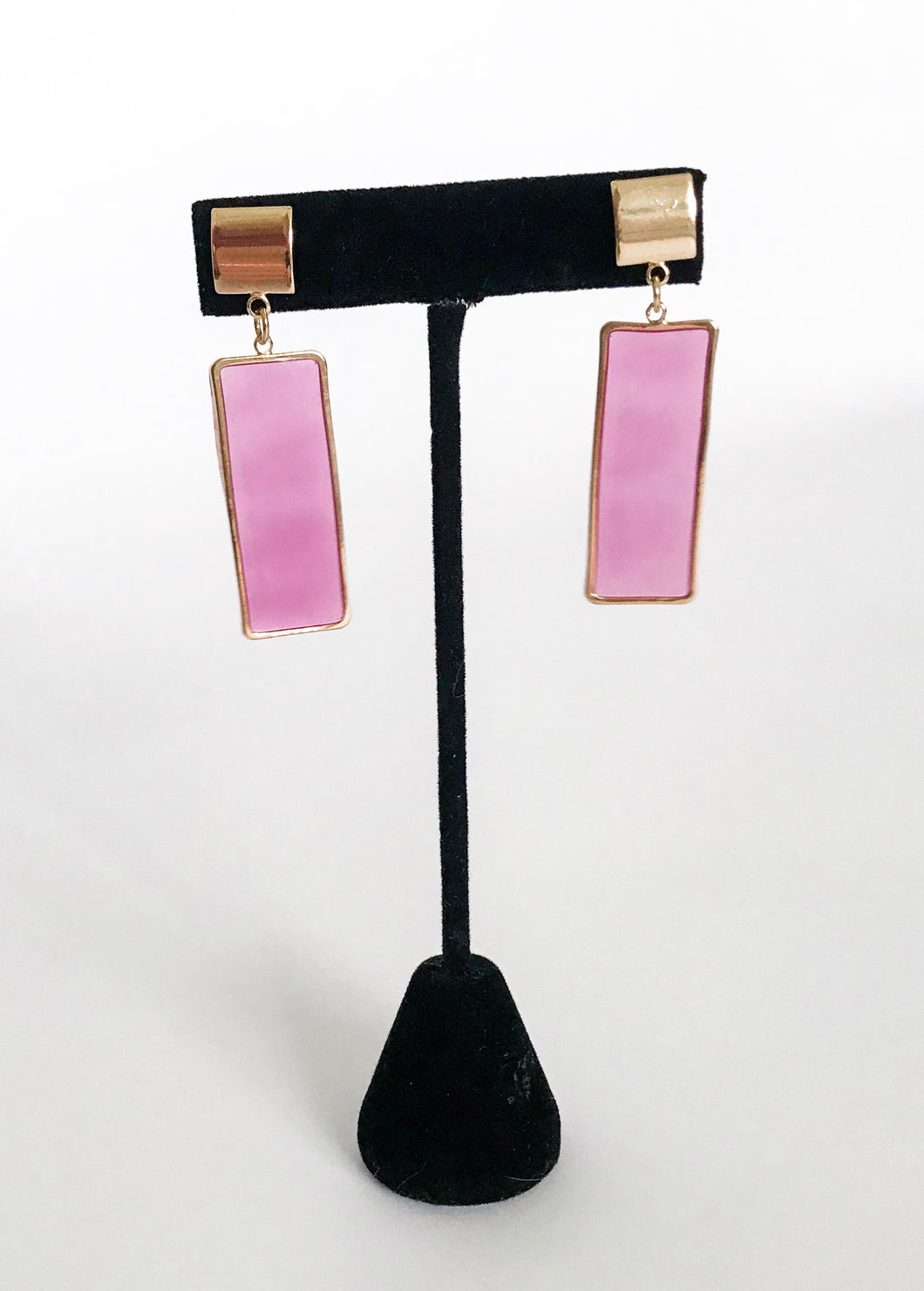The Pretty in Pink Earrings