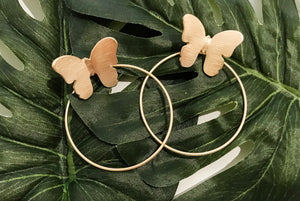 You Give Me Butterflies Earrings