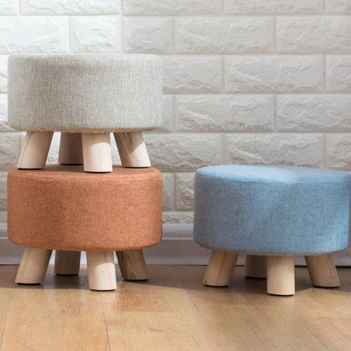 Luxury Upholstered Footstool