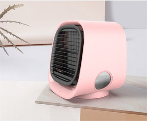 Portable Mini Air Conditioner Pink 2