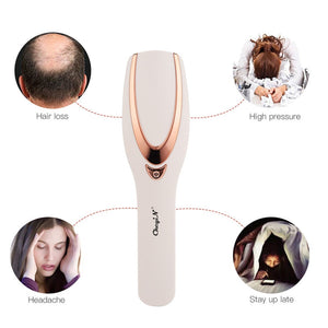 electric scalp massager applications