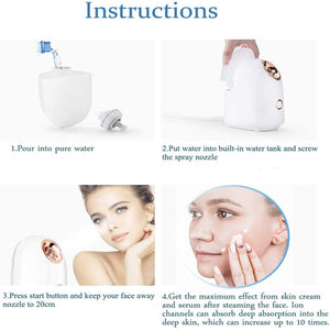 Face Steamer instructions