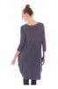 3/4 Sleeve A-Line Tunic Dress - BodiLove | 30% Off First Order  - 16