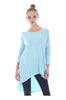3/4 Dolman Sleeve Hi-Low Tunic - BodiLove | 30% Off First Order - 51