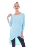 3/4 Dolman Sleeve Hi-Low Tunic - BodiLove | 30% Off First Order - 53