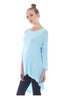 3/4 Dolman Sleeve Hi-Low Tunic - BodiLove | 30% Off First Order - 54
