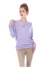 3/4 Dolman Sleeve Boat Neck Top - BodiLove | 30% Off First Order  - 33