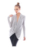 Long Sleeve Criss Cross Drape Front Top - BodiLove | 30% Off First Order - 22