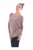 3/4 Dolman Sleeve Boat Neck Top - BodiLove | 30% Off First Order  - 25