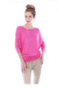 3/4 Dolman Sleeve Boat Neck Top - BodiLove | 30% Off First Order  - 12