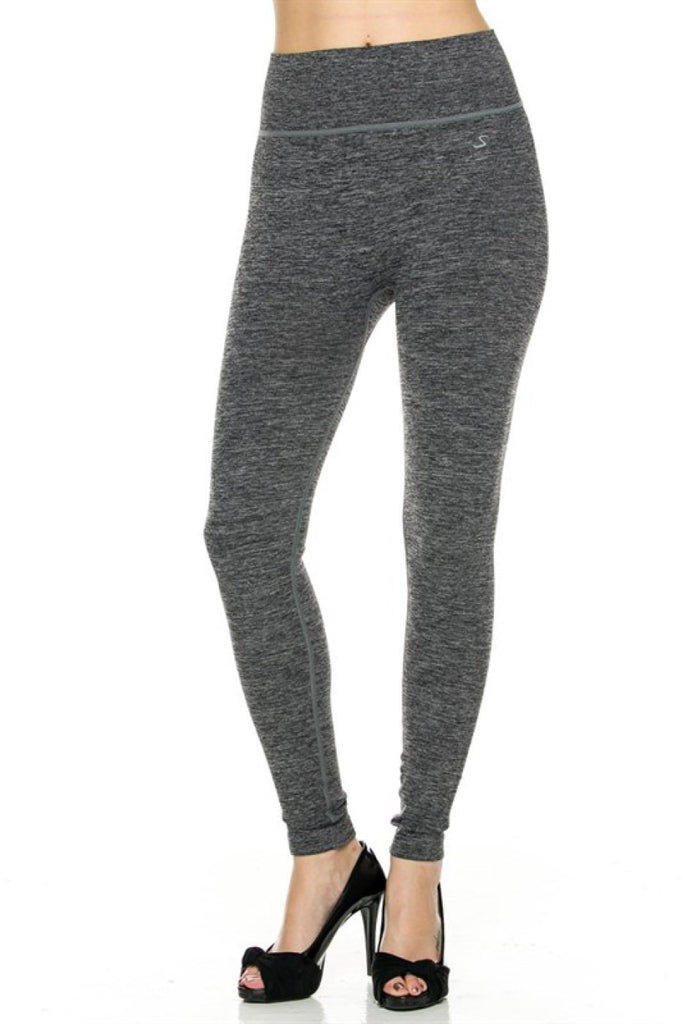 Seamless High Waisted Yoga Leggings - BodiLove | 30% Off First Order  - 1