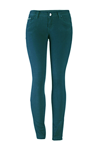 Stretchy 5 Pocket Colored Skinny Jeans - BodiLove | 30% Off First Order - 1