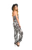 Strapless Tribal Print Slim Leg Jumpsuit - BodiLove | 30% Off First Order  - 2