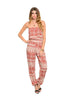 Strapless Tribal Print Slim Leg Jumpsuit - BodiLove | 30% Off First Order  - 3