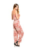 Strapless Tribal Print Slim Leg Jumpsuit - BodiLove | 30% Off First Order  - 4