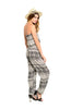 Strapless Tribal Print Slim Leg Jumpsuit - BodiLove | 30% Off First Order  - 6