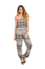 Strapless Tribal Print Slim Leg Jumpsuit - BodiLove | 30% Off First Order  - 7