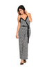 Antique Damask Print Wide Leg Jumpsuit - BodiLove | 30% Off First Order  - 1