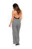 Antique Damask Print Wide Leg Jumpsuit - BodiLove | 30% Off First Order  - 2