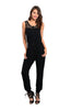 Trendy Sleeveless Slim Fit Jumpsuit - BodiLove | 30% Off First Order  - 1